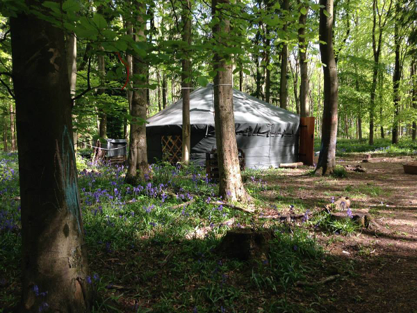 Little Wild Things yurt